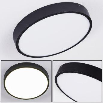 KRAGOS Ceiling Light LED black, white, 1-light source