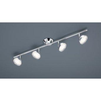 Trio 8728 ceiling light LED chrome, 4-light sources