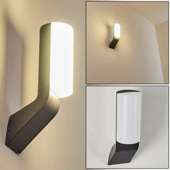 Outdoor Wall Light Bovlund LED black, 1-light source