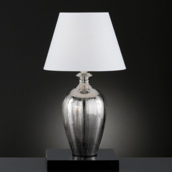 Honsel Belly Table lamp silver, 1-light source