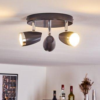 IDLEWILD Ceiling Light LED black, 3-light sources