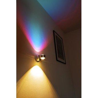 Indore wall light LED aluminium, 2-light sources