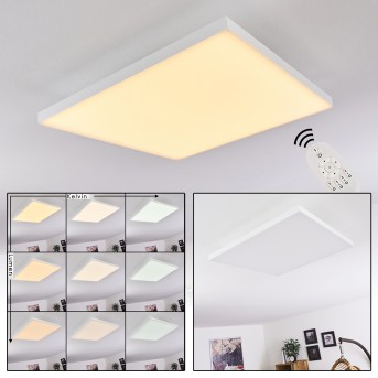 BUENAVENTURA Ceiling Light LED white, 1-light source, Remote control