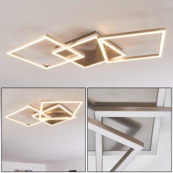 TORRES Ceiling Light LED matt nickel, 3-light sources