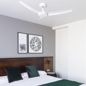 Faro Barcelona SIROS ceiling fan white, Remote control