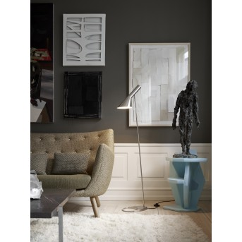Louis Poulsen AJ Floor Lamp stainless steel, 1-light source