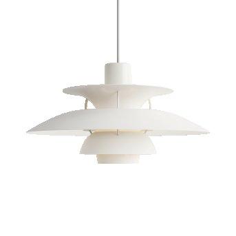 Louis Poulsen PH5 Pendant Light white, 1-light source