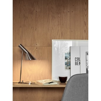 Louis Poulsen AJ Table lamp stainless steel, 1-light source