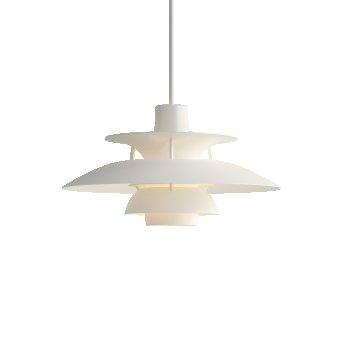 Louis Poulsen PH5MINI Pendant Light white, 1-light source