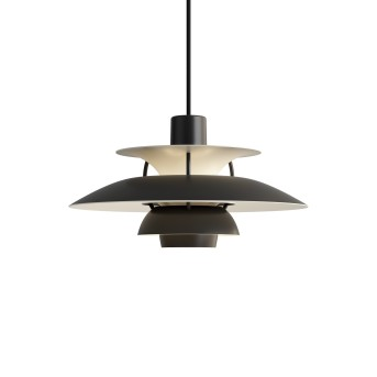 Louis Poulsen PH5MINI Pendant Light white, black, 1-light source