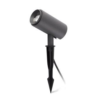 Faro Barcelona PLOM garden spotlight LED grey, 1-light source