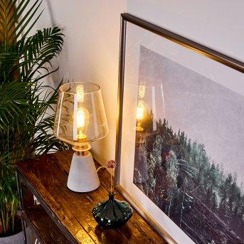 JAEN Table lamp grey, copper, 1-light source