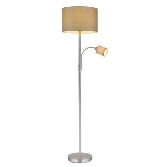 Globo PACO Floor Lamp matt nickel, 1-light source