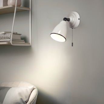 Brilliant TELIO Wall Light grey, white, 1-light source