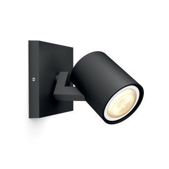 Philips HUE AMBIANCE WHITE RUNNER Single spotlight LED black, 1-light source