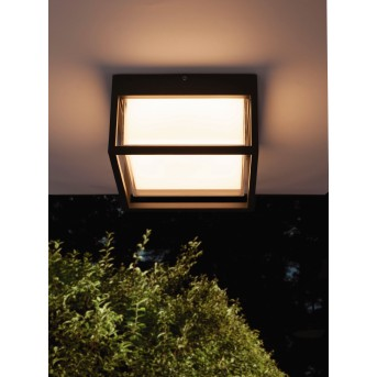 Mantra CHAMONIX outdoor ceiling light LED grey, 1-light source