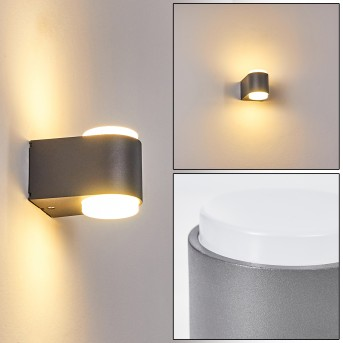 Mapiu Outdoor Wall Light LED anthracite, 2-light sources