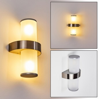 Parawa Outdoor Wall Light stainless steel, 2-light sources
