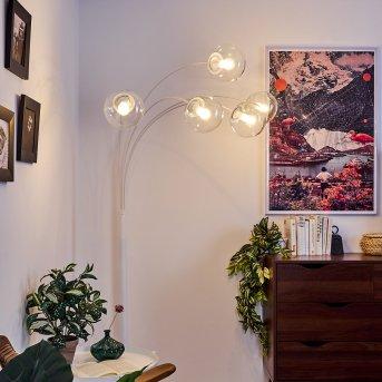 Mesas Floor Lamp white, 5-light sources