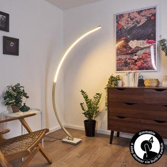 Uttorp Floor Lamp LED silver, 1-light source