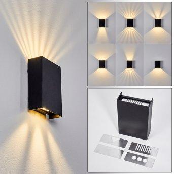 Benin Wall Light LED grey, 1-light source