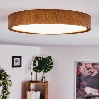 Nexo Ceiling Light LED Dark wood, 1-light source