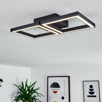 Cavareno Ceiling Light LED black, 1-light source