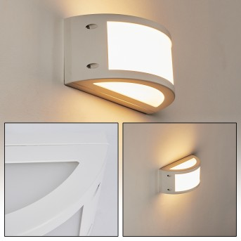 Pompeano Outdoor Wall Light LED white, 1-light source