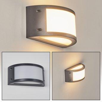 Pompeano Outdoor Wall Light LED black, 1-light source