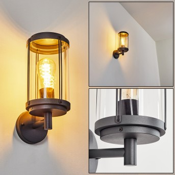 Riola Outdoor Wall Light anthracite, 1-light source