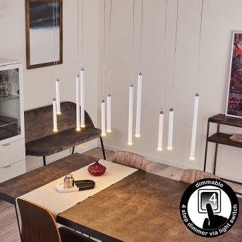 Porquera Pendant Light LED white, 11-light sources
