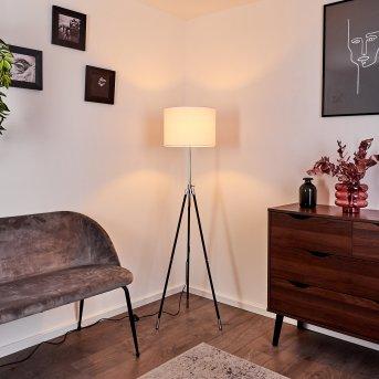 Honoa Floor Lamp chrome, black, 1-light source