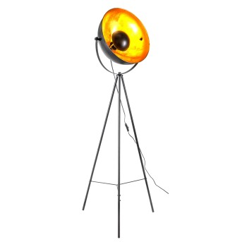 Nino-Leuchten Timo Floor Lamp black, 1-light source