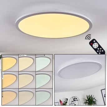Sani Ceiling Light LED white, 1-light source, Remote control