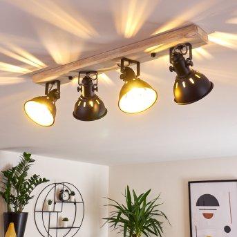 Tina Ceiling Light Light wood, 4-light sources