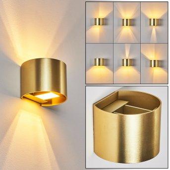 Badajoz Wall Light LED gold, 1-light source