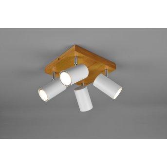 Trio Marley Spotlight Light wood, 4-light sources