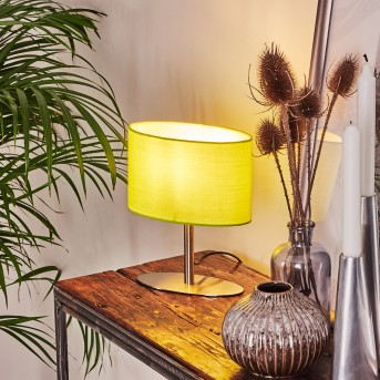 Mavulu Table lamp matt nickel, 1-light source