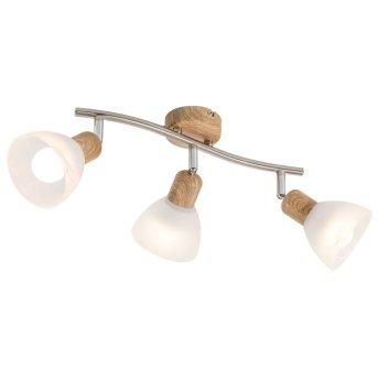 Nino Leuchten DAYTONA Spotlight LED Light wood, 3-light sources
