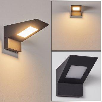 Matlava Outdoor Wall Light LED anthracite, white, 1-light source