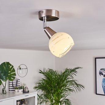Warga Ceiling Light LED matt nickel, 1-light source