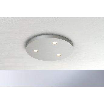 Bopp-Leuchten CLOSE Ceiling Light LED silver, 3-light sources