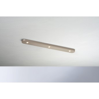 Bopp-Leuchten CLOSE Ceiling Light LED brown, 3-light sources