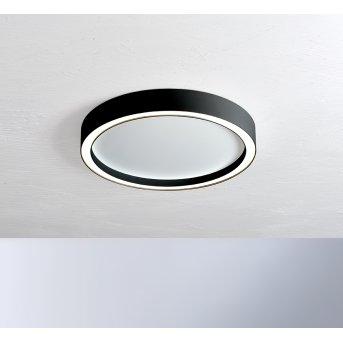 Bopp-Leuchten AURA Ceiling Light LED black, white, 1-light source