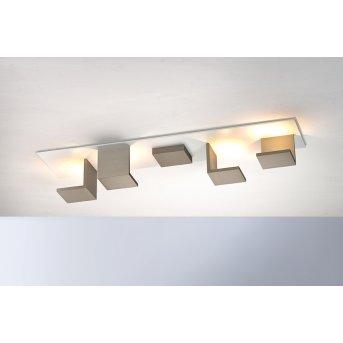 Bopp-Leuchten REFLECTIONS Ceiling Light LED brown, white, 4-light sources