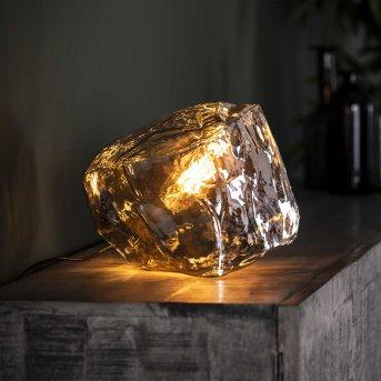 MARORE Table lamp silver, 1-light source