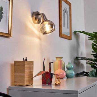 Warga Wall Light LED matt nickel, 1-light source