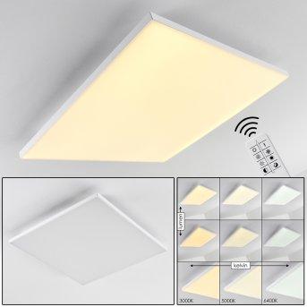 Bankura Ceiling Light LED white, 1-light source, Remote control