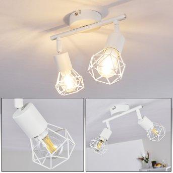 Baripada Ceiling Light white, 2-light sources