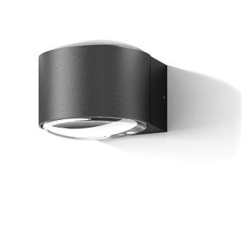 CMD AQUA RIO Outdoor Wall Light LED anthracite, 2-light sources